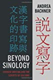 Beyond Sinology : Chinese Writing and the Scripts of Culture, Bachner, Andrea, 0231164521