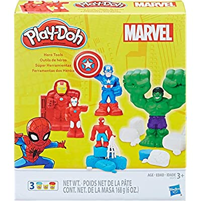 Play-Doh Marvel Hero Tools: Toys & Games