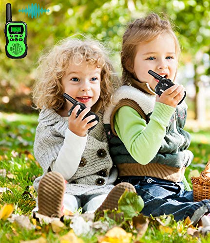 Best Gifts for Kid, JRD&BS WINL Toys Walkie Talkies for Kid,Fun Toys for 4-5 Year Old Boys,Kid Toys for 6-10 Year Old Travel Hunting,HK-588 1 Pair(Green) by JRD&BS WINL (Image #4)