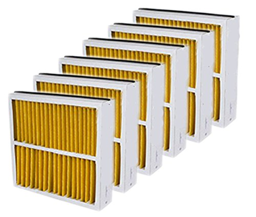 Atomic 16x25x5 MERV 11 Trion Compatible Replacement Furnace Filter- 6 Pack