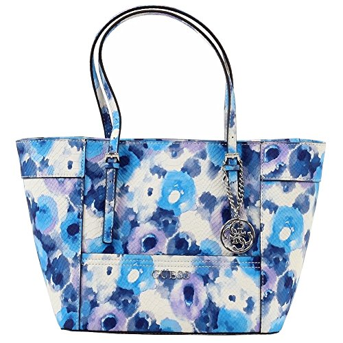 aa63e7d99a GUESS Women's Delaney Floral-Print Small Classic Tote – Anna's ...