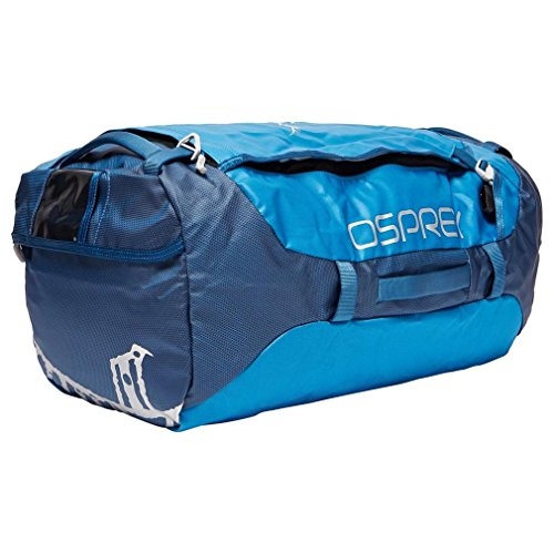Osprey Packs Transporter 65 Expedition Duffel, Kingfisher Blue, One ()