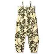 Burt's Bees Baby Baby Girls' Romper Jumpsuit, Short Sleeve One-Piece Jumpbee, 100% Organic Cotton, Golden Sun Catching Dreams Bubble Romper, 6-9 Months