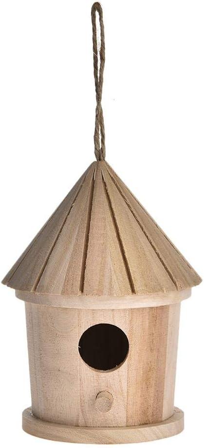 waterfaill Nido De Pájaro, Nidal De Madera, Casita De Pájaros, Pájaro Salvaje Nidal, Decorativo De Madera del Pájaro Casa para Atraer A Las Aves Silvestres
