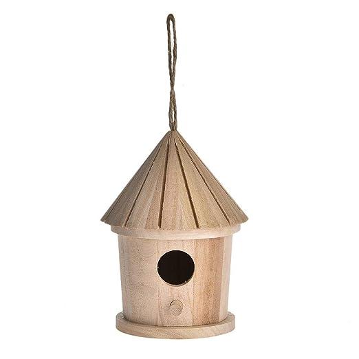 Ntribut Caja De Nidificación De Aves Aves Jaulas Jardín Nido De ...