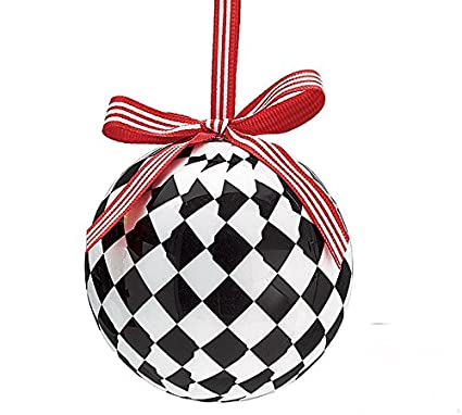 black ball ornament
