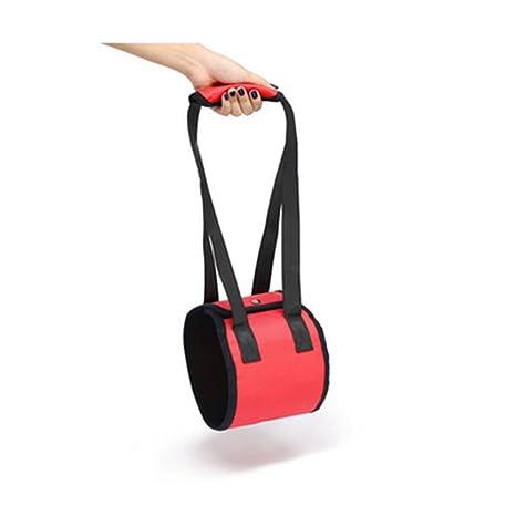 ZAMAC - Cinturón de apoyo para levantamiento de mascotas para patas débiles delanteras o traseras,