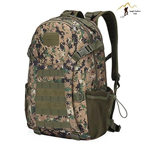 Jungle Oxford Neue Top 511Rucksack Outdoor Reise Rucksack Molle Big Bags Camouflage Tactical Taschen Wild Rucksack Tasche Wandern Klettern Rucksack, Jungle Digital