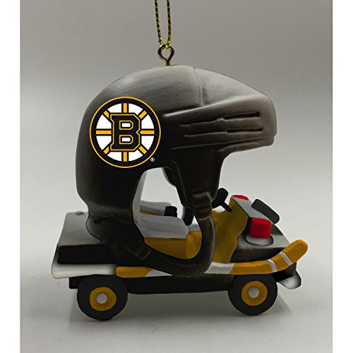 Team Sports America Boston Bruins Vintage Rink Cart Team Ornament