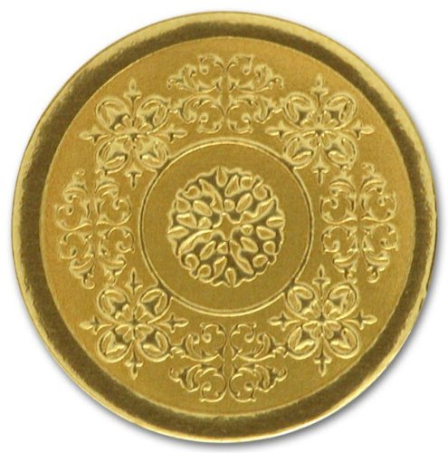 (EGP Round Medallion Seals, 25 Count, 1 Inch, Gold)