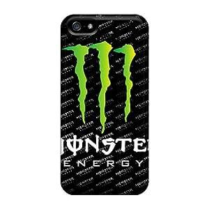Cute Tpu NadaAlarjane-l Monster Case Cover For Iphone 5/5s