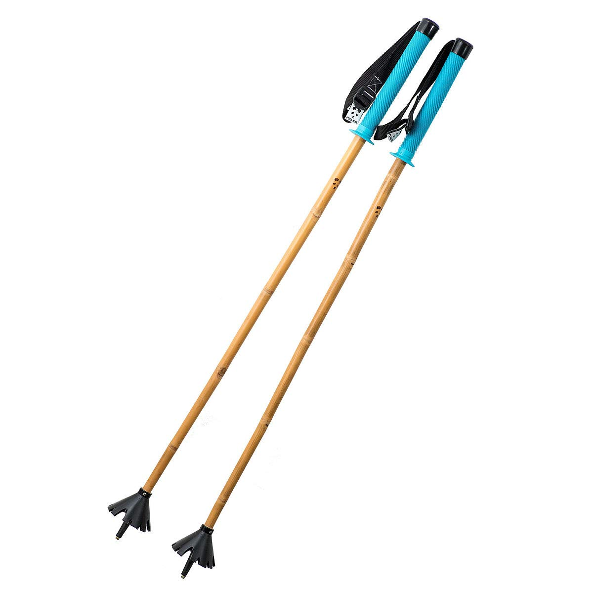 PANDA POLES(パンダポール) スキーストック SHOGUN Water 青 105cm ショーグン バンブーシャフト Panda Poles スキーポール