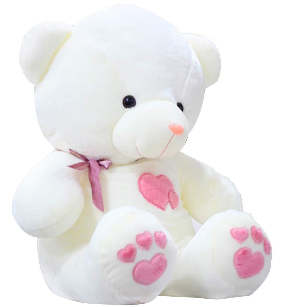 Pink 110cm Toy Teddy bear plush doll, simulation cute Teddy bear doll birthday gift, Valentine's Day, car home decoration 75cm 90cm 110cm ZDDAB