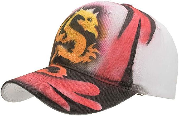 sdssup Gorra de béisbol de la Serie Animal Pintada a Mano Sombrero ...