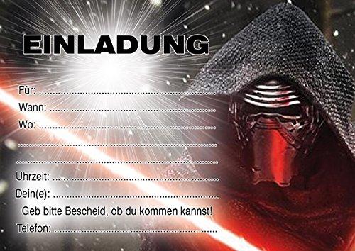 10 Einladungen Zum Kindergeburtstag Star Wars In German: Amazon.de:  Bürobedarf U0026 Schreibwaren