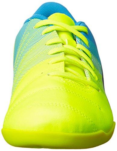 Puma Evopower 4.3 It - Zapatillas Mujer Amarillo - Gelb (safety yellow-black-atomic blue 01)