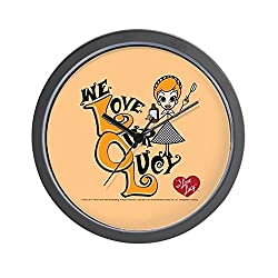 CafePress - We Love Our Lucy - Unique Decorative 10 Wall Clock