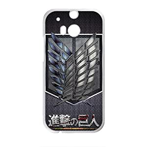 Happy Attack on Titan signal Cell Phone Case for HTC One M8
