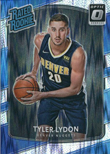 2017-18 Donruss Optic Flash Prizm #177 Tyler Lydon Denver Nuggets Rated Rookie Basketball Card (Denver Nuggets Set)