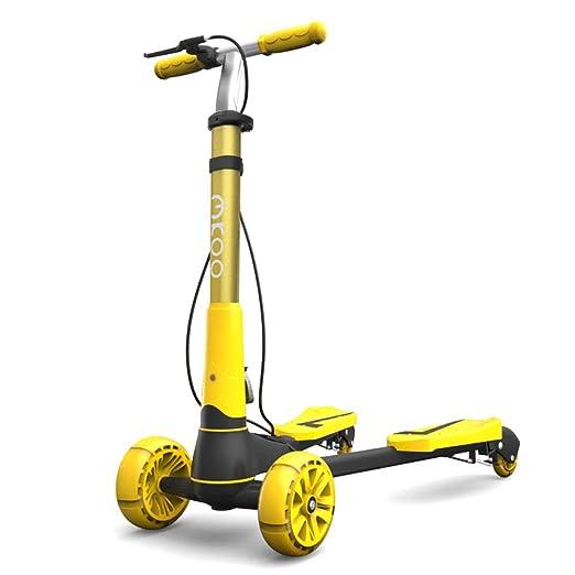 Patinetes de tres ruedas con mango ajustable Scooter de moda ...