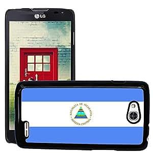 GoGoMobile Etui Housse Coque de Protection Cover Rigide pour//V00001131 Nicaragua Bandera Nacional País//LG Optimus L90 D415