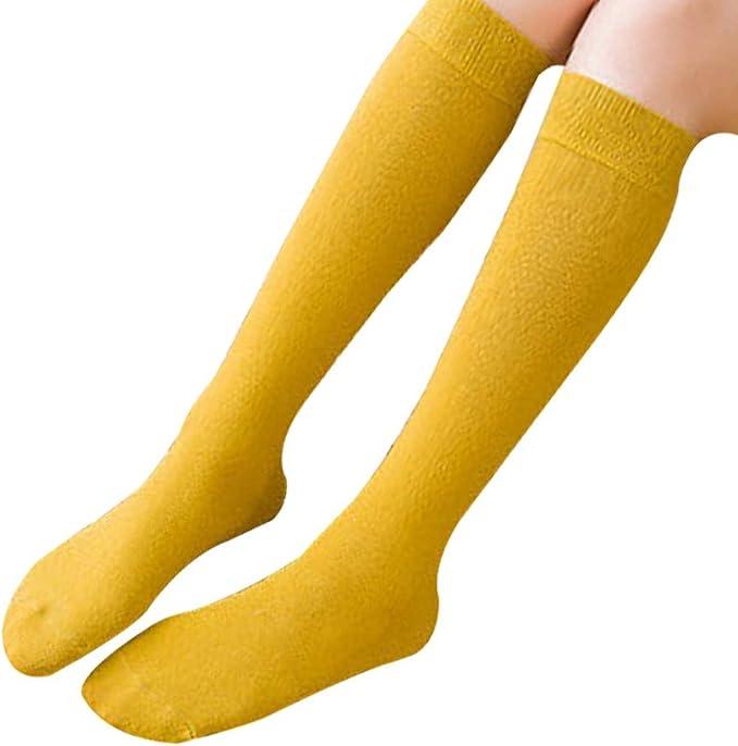 Cosanter Mujer Niñas Calcetines Largos Calcetines hasta la rodilla ...