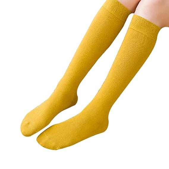 Gysad 1 par Calcetines media mujer Algodón Calcetines de mujer Cálido y confortable Calcetines mujer invierno (35-41) (Amarillo): Amazon.es: Ropa y ...