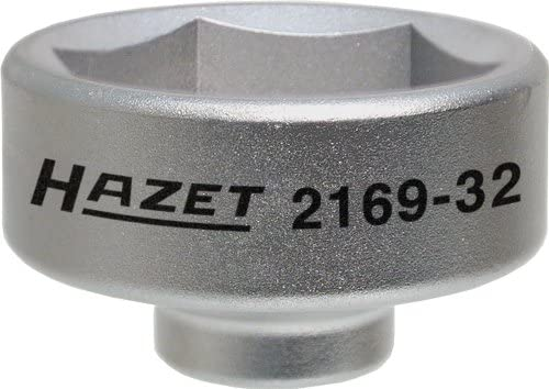 Amazon.com: Hazet 2169 – 32, 6 cantos, 32 mm llave para ...