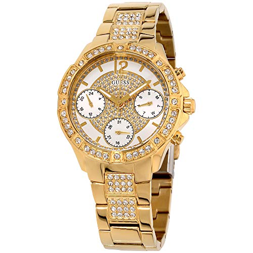 Guess Roxy White Dial Stainless Steel Ladies Watch W1071L2