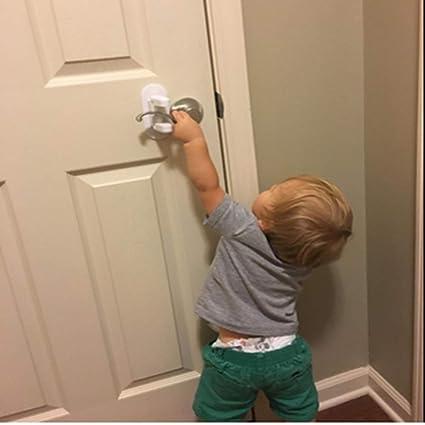 Amazon Com 2pc Door Lever Lock For Child Safety Proof Doors Handles