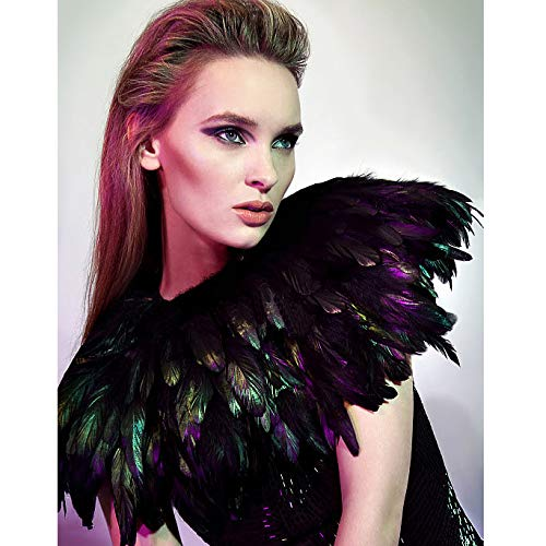 lvow-fashion-feather-cape-stole-black-shawl-iridescent