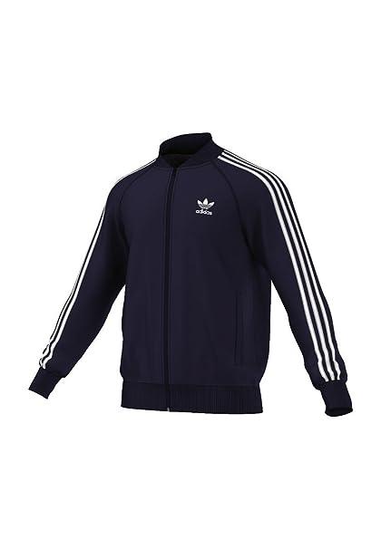 Adidas Superstar Originals – Chaqueta Negra Hombre, Hombre, Color Legend Ink, tamaño Extra