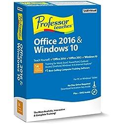 Individual Software PROFESSOR TEACHES OFFICE & WINDOWS 10