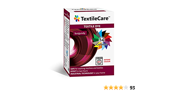 TextileCare Tinte de tela para lavadora para ropa y textiles ...