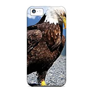 Tpu Case For Iphone 5c With Bald Eagle