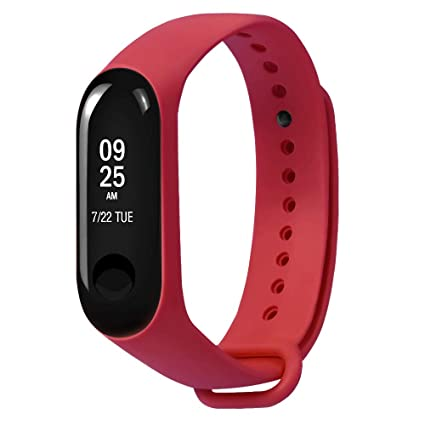 Amazon.com: Barthylomo Xiaomi Mi Band 3 Soft TPE Silicone Watch ...