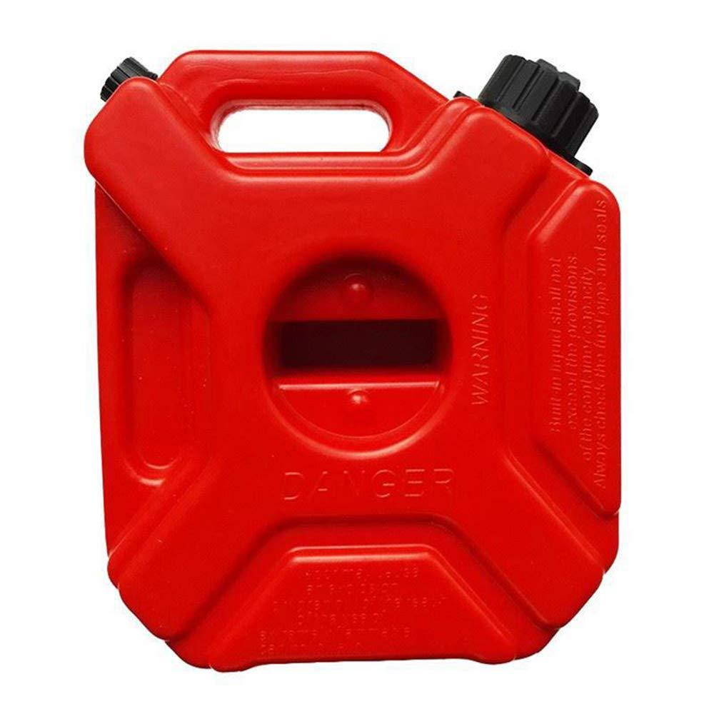Plastic Gas Container, 1.3 Gallon Portable Spare Oil Pot, Anti-Static Plastic Petrol Barrel, Car Receiving Bucket Long Trip Long Distance