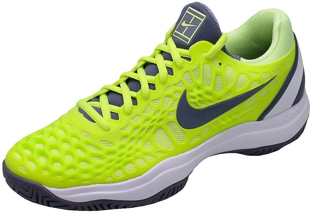 MultiFarbe (Volt Glow Light Carbon Weiß 701) Nike Air Zoom Cage 3 HC, Hausschuhe de Tenis para Hombre