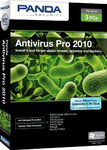 Panda Antivirus Pro 2010 3 user [Old Version]