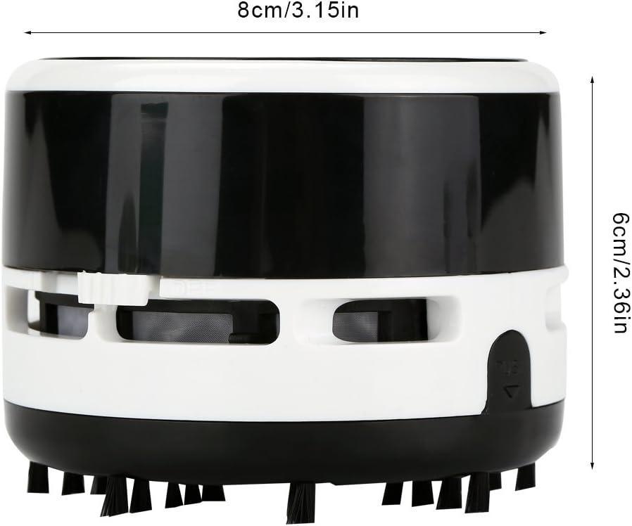 Aspirateur de bureau Aspirateur de table Mini nettoyeur de Poudre /électrique noir Aspirateur /à main Aspirateur balai sans fil