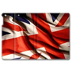 iPad Air Case, Shock-Absorption/Impact Resistant PU pc hard Personalized Protective Folio Smart Case Cover(Automatic Wake/Sleep Function) for iPad Air - Flag Of The United Kingdom