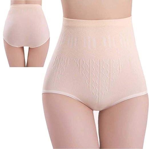3ef409bfde16 Amazon.com: DICPOLIA High Waist Abdomen Seamless Underwear, Womens Sexy  High Waist Tummy Control Body Shaper Briefs Slimming Pants (one Size:Waist:66-92CM,  ...