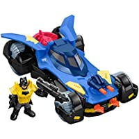 Fisher-Price Imaginext DC Super Friends, Batmobile, Pack...
