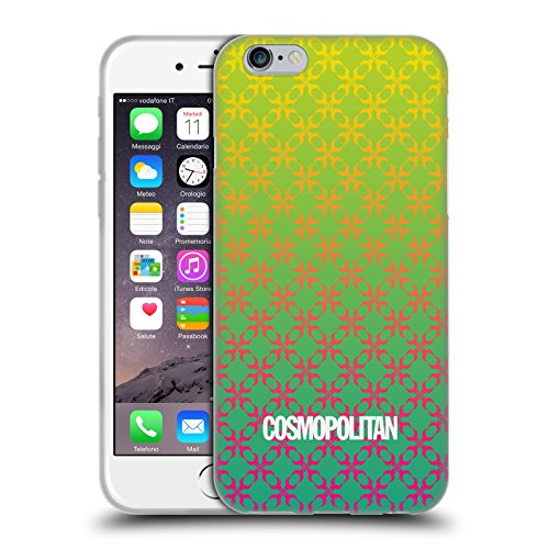 Official Cosmopolitan Ombre 4 Fun Summer Soft Gel Case for Apple iPhone 6 / 6s