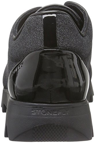 Lady Basses Stonefly 3 Speedy Black Femme 000 Noir Baskets Nero I6PPpx