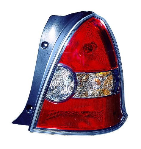 Depo 321-1946R-AS-LO Hyundai Accent Right Hand Side Tail Lamp Assembly