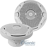 "JBL MS6510 150-watt, 6-½"" Dual Cone Marine Speakers - (Pair) White"