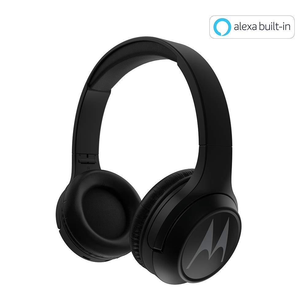 Motorola Escape 210 Over The Ear Bluetooth Headphones (Black)