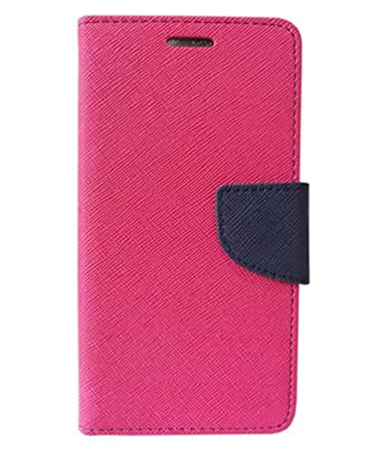 online store 8570e eee9e COVERNEW Mercuryy Flip Cover for VIVO Y71-1724 - Pink::Blue