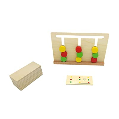 MagiDeal Jeux de Construction Jeu éducatif Enfant équipement De Montessori Exercice Sens